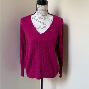 Talbots Plus Petite Pima Cotton Sweater